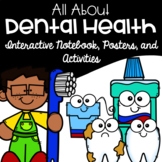 Dental Health Interactive Notebook, Activities, Poster Set