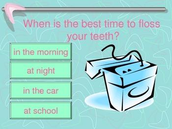 Dental Health Interactive Power Point