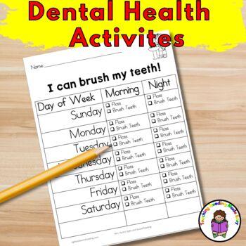 Dental Health Kidergarten Lesson Plans