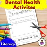 Dental Health Activities -Kindergarten Literacy fun!
