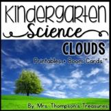 Clouds Kindergarten Science NGSS