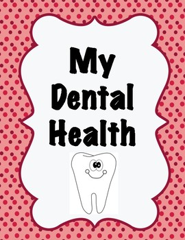 Dental Health Label and Chart