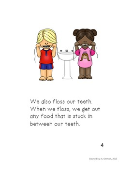 Dental Health Literacy Packet