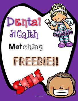 Dental Health Matching Freebie
