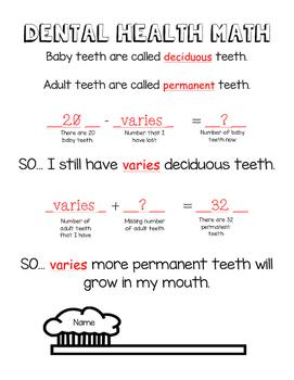 Dental Health Math