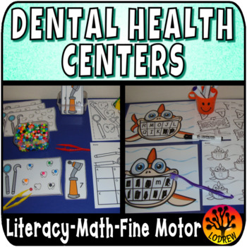 Dental Health Centers Activities Math Literacy Teeth Tooth K, Preschool