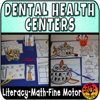Dental Health Centers Activities Math Literacy Teeth Tooth