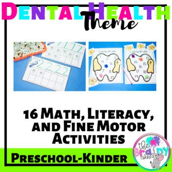 16 Math, Literacy, and Fine Motor Skills Activities