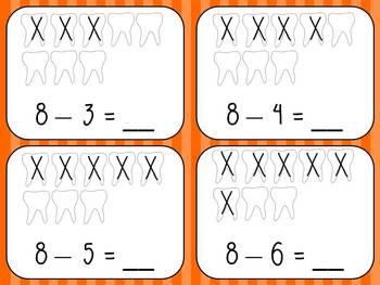 Dental Health Math and Literacy Unit- Bundled!!
