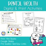 Dental Health Mini Books