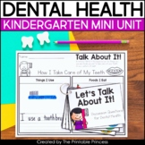 Dental Health Month Activities for Kindergarten Mini Unit