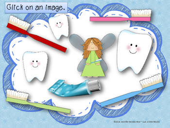 Dental Health Month (February) Melodic Reading Practice {sol mi}