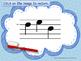 Dental Health Month (February) Melodic Reading Practice {sol mi la}