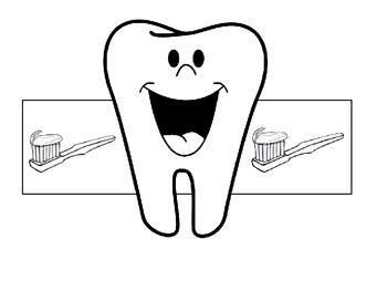 Dental Health Month Hat Pattern