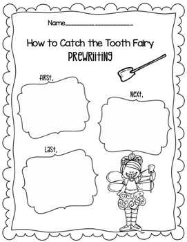 "Dental Health Month ~ ""How to Catch the Tooth Fairy"" Freebie"