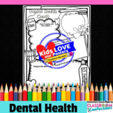 Dental Health Month Activity Poster