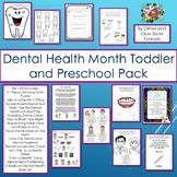 Dental Health Month Toddler and Preschool Pack