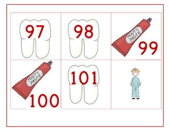 Dental Health Number Game
