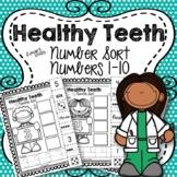 Dental Health Number Sort 1-10