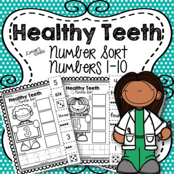 Dental Health Number Sort 1-10