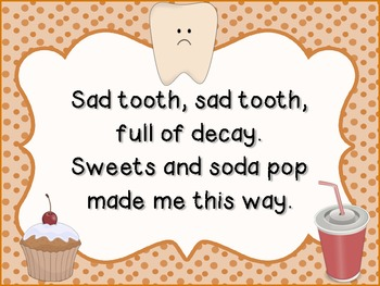 Dental Health Poems