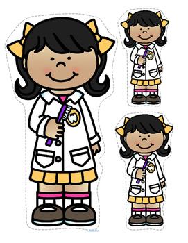 Dental Health Centers, Activities and Printables for Preschool and Kindergarten