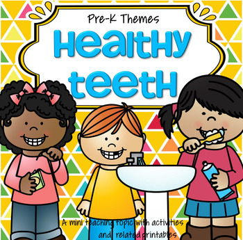 Dental Health Centers, Activities and Printables for Presc