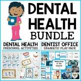 Dental Health Preschool Dramatic Play and Activities Bundle
