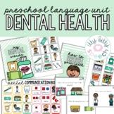 Dental Health Preschool Language Unit (+BOOM Cards)