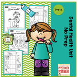 Dental Health Printable No Prep