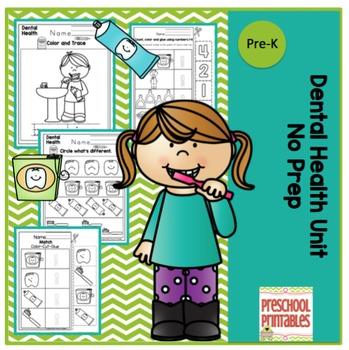 Dental Health Printable No Prep