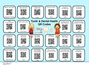 Dental Health QR Codes