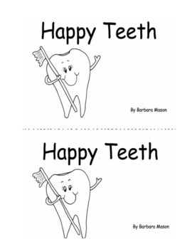Dental Health Printable Book Guided Reading:   Level C