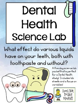 Dental Health Science Lab - Use Egg Shells to Mimic Teeth