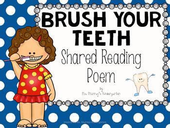 Dental Health Shared Reading Poem
