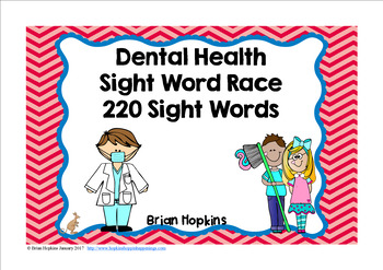 Dental Health Sight Word Race