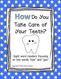 Dental Health Sight Word Reader Book