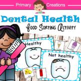Dental Health Preschool Sorting Activity