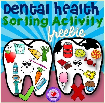 FREE Dental Health Sorting Activity