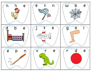 Dental Health Sound Sort Cards ~Many Ways To Use To Meet Student Needs~