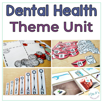 Dental Health Special Ed Theme Unit - Reading Math Language