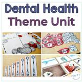 Dental Health Special Ed Theme Unit - Reading Math Language