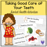 Dental Health Taking Good Care of Your Teeth Sort and Activity