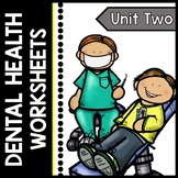Dental Health - Teeth - Special Education - Life Skills - Print and Go Packet