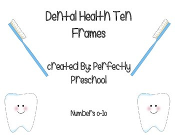 Dental Health Ten Frames {Dollar Deal}