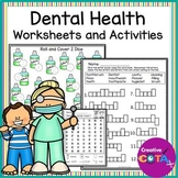Dental Health Theme Math and Writing Activities and Worksheets