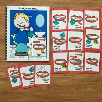 Dental Health Themed Movement Cards (And Book!)