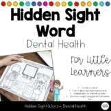 FREE Dental Health & Tooth Care Hidden Sight Words