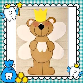 Dental Health Tooth Fairy Bear Craft