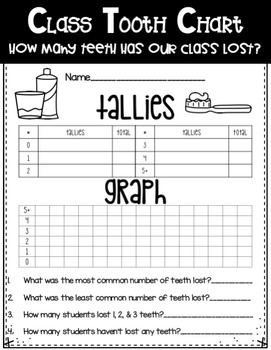 Dental Health Month Tooth Unit